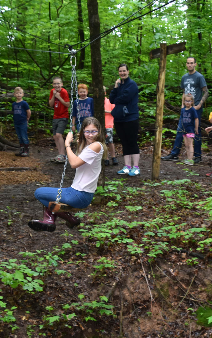 Play At American Girl: Natural Play Area Opening At Blendon Woods
