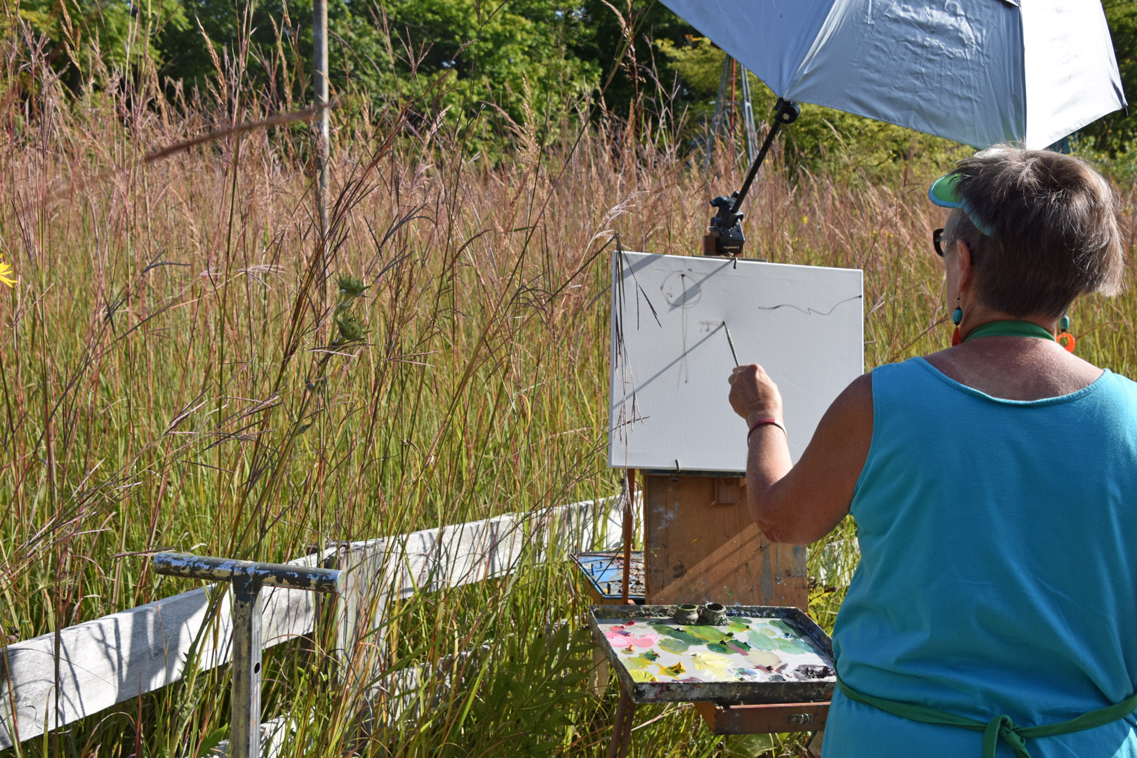 Plein Air art society enjoys a Paint Out at Inniswood - Metro Parks ...