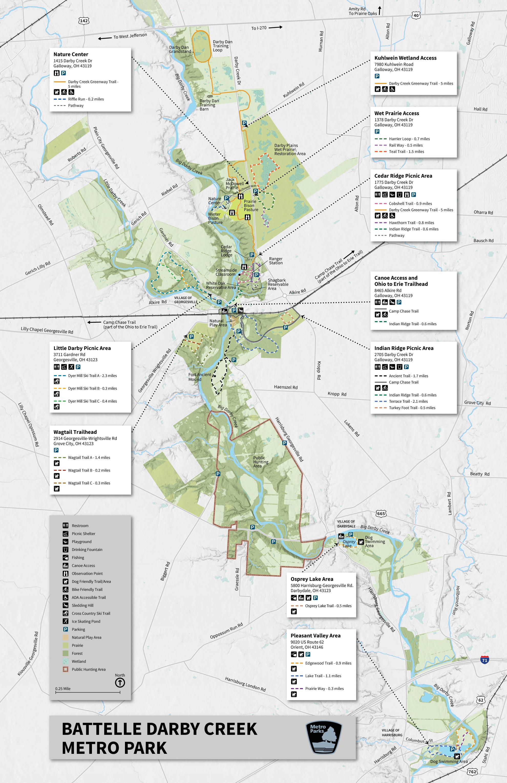 Park Maps Metro Parks Central Ohio Park System