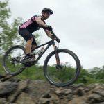 Biker at Quarry Trails Metro Park