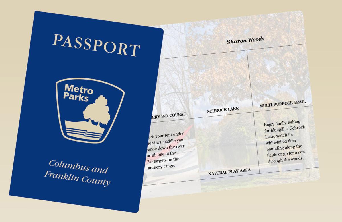 Metro Parks passport image