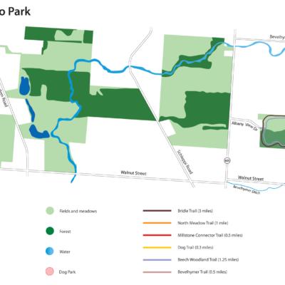 Rocky Fork Metro Park Map