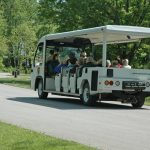 Metro Parks tram takes visitors on a tour of Blacklick Woods