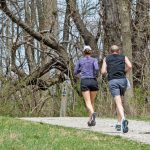 Joggers at Chestnut Ridge