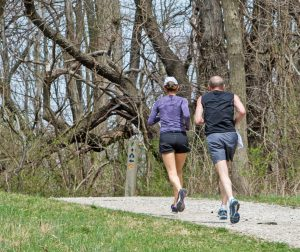 Joggers at Chestnut Ridge