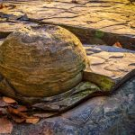 A concretion in a ravine at Highbanks