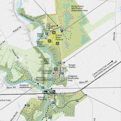 Battelle Darby Creek Park Map