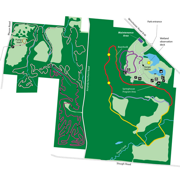Chestnut Ridge Park Map