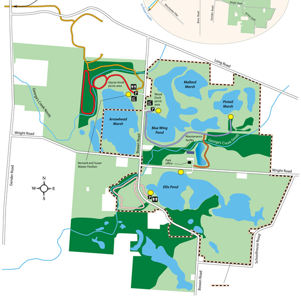 Pickerington Ponds Park Map