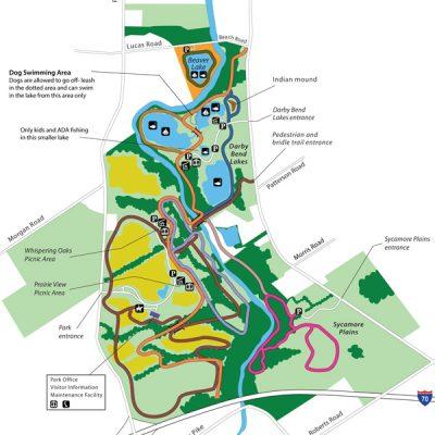 Prairie Oaks Park Map