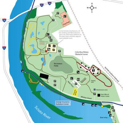Scioto Audubon Park Map