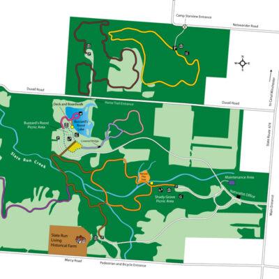 Slate Run Parkmap