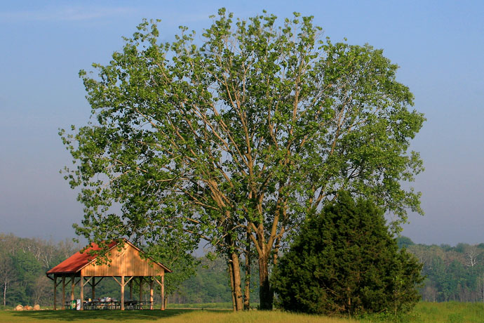 Darby Bend Lakes shelter at Prairie Oaks Metro Park