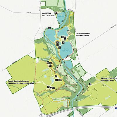 Prairie Oaks Map